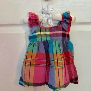 Baby Gap plaid dress